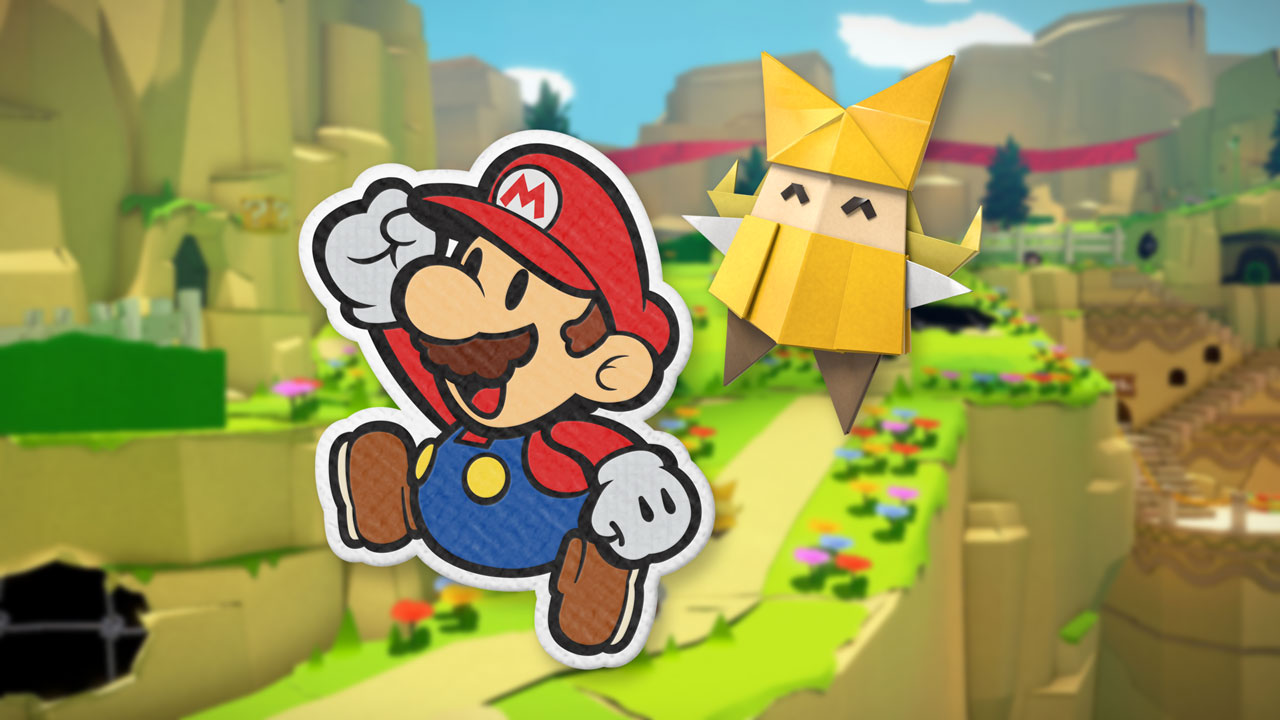 paper mario the origami king review echo boomer