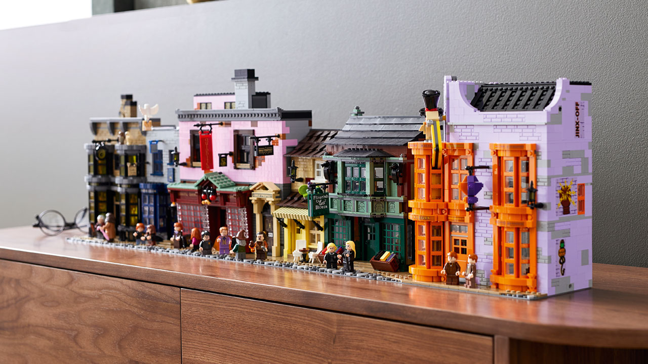 lego harry potter diagon alley 1
