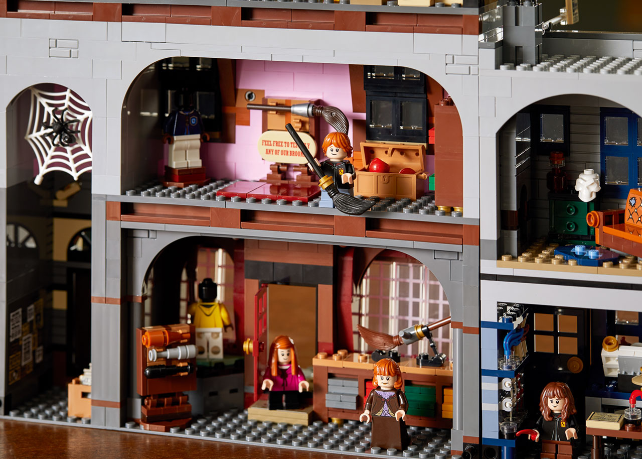 lego harry potter diagon alley 7