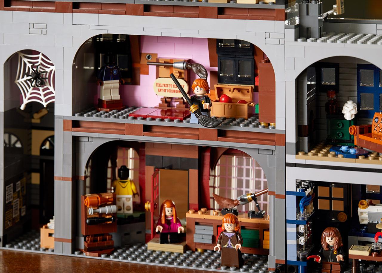 lego harry potter diagon alley 7