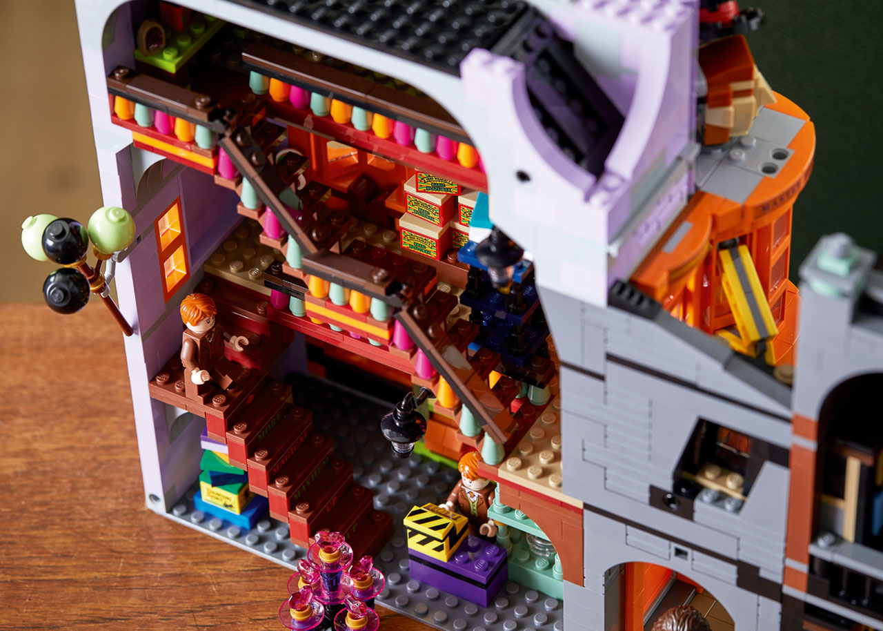 lego harry potter diagon alley 8