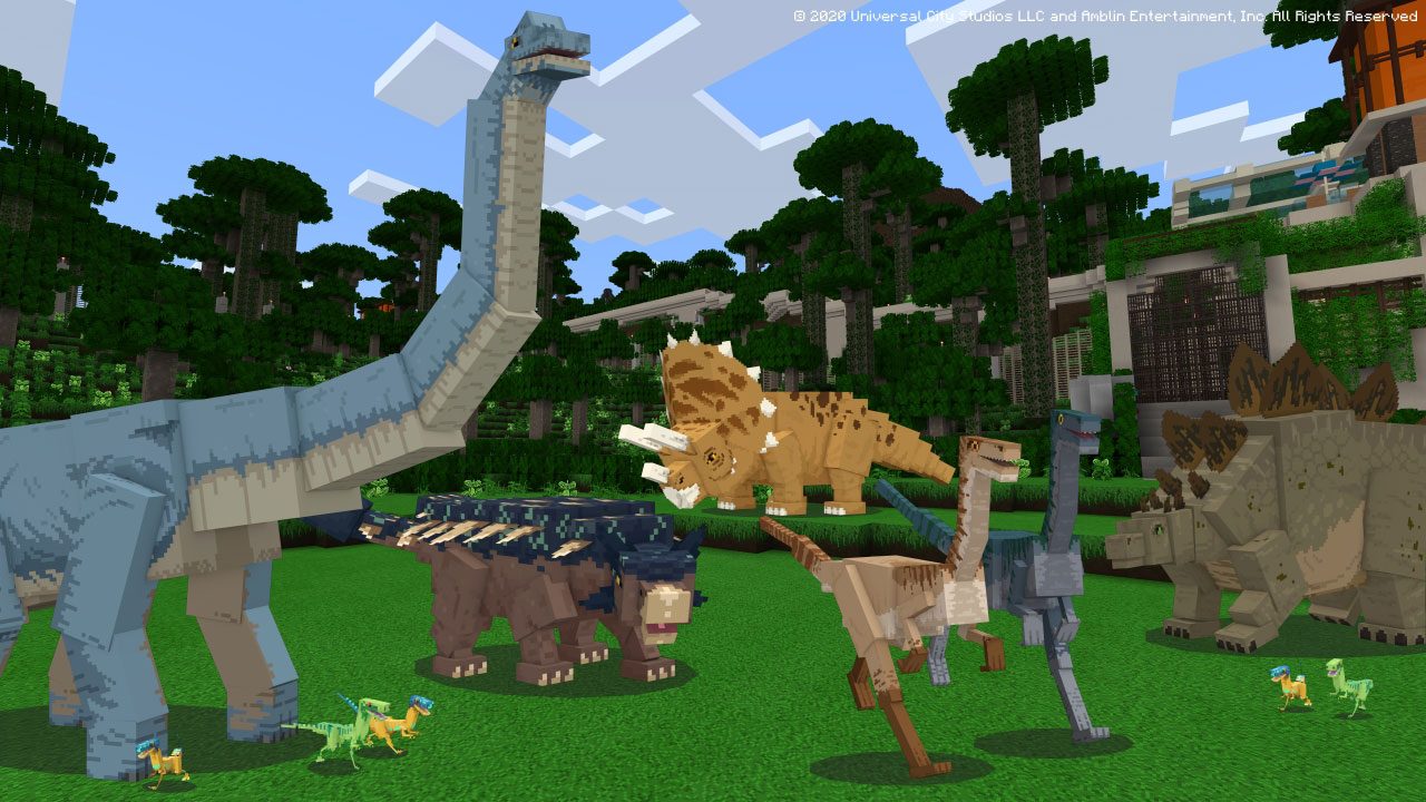 Jurassic World - Minecraft