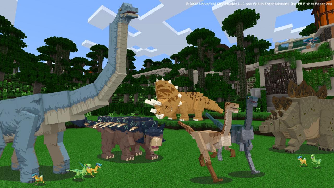Jurassic World - Minecraft