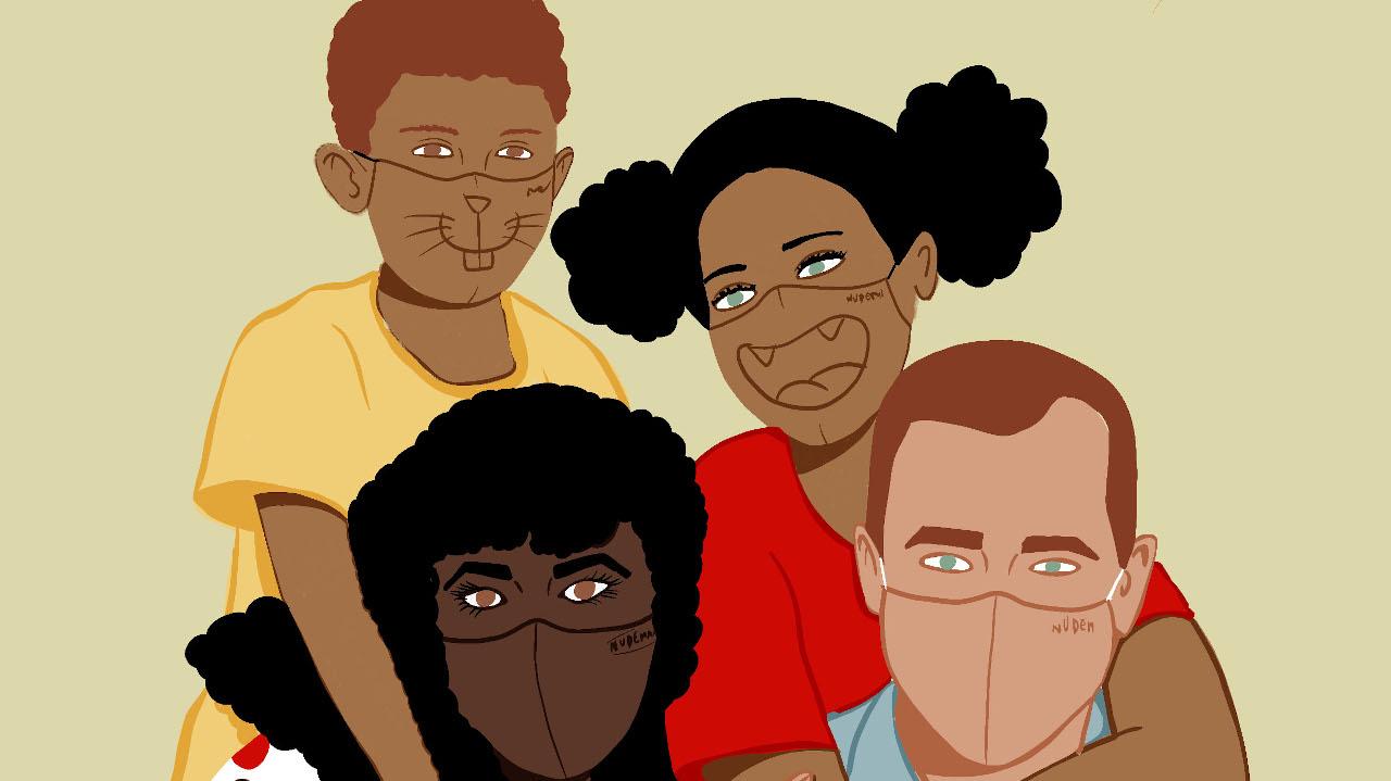 Nudemask - máscaras inclusivas