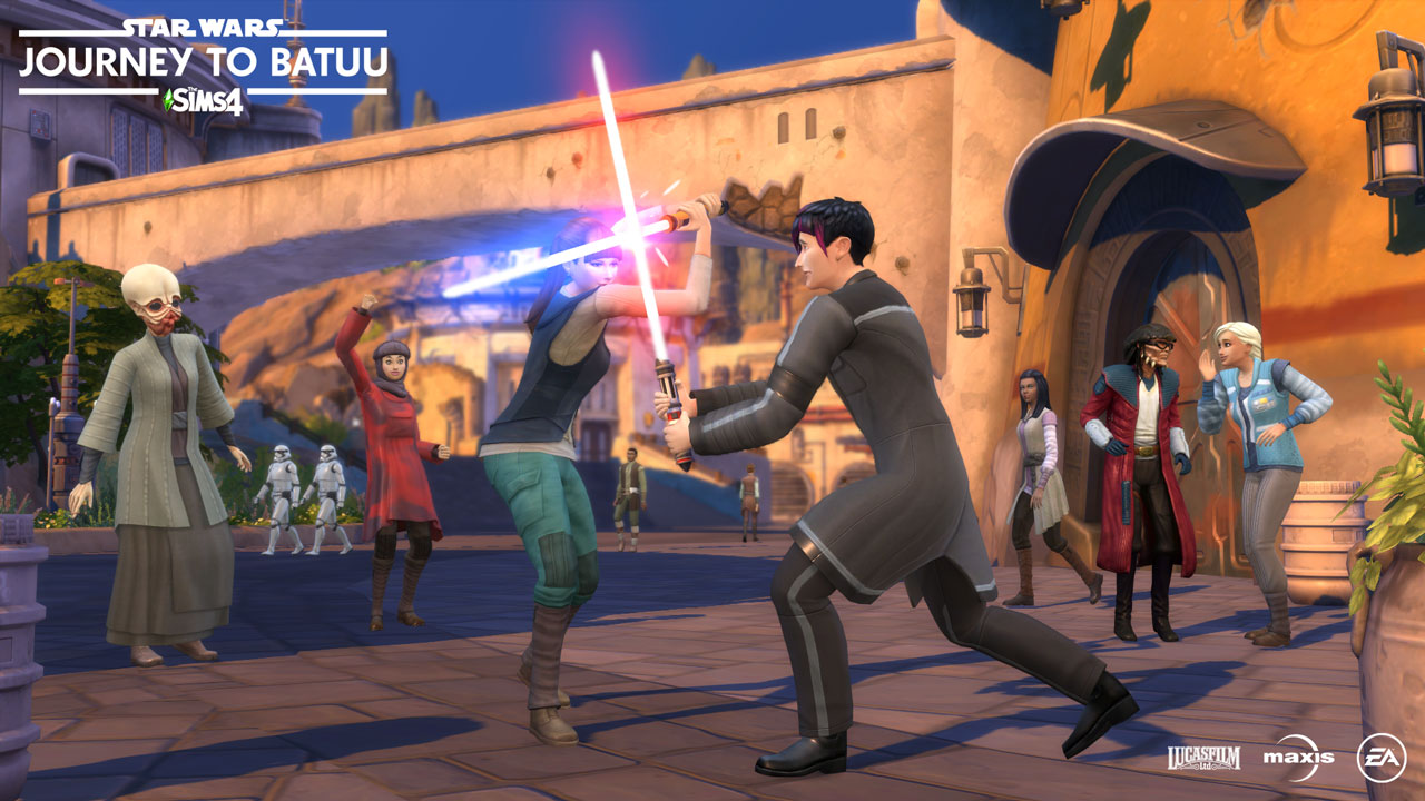 star wars the sims
