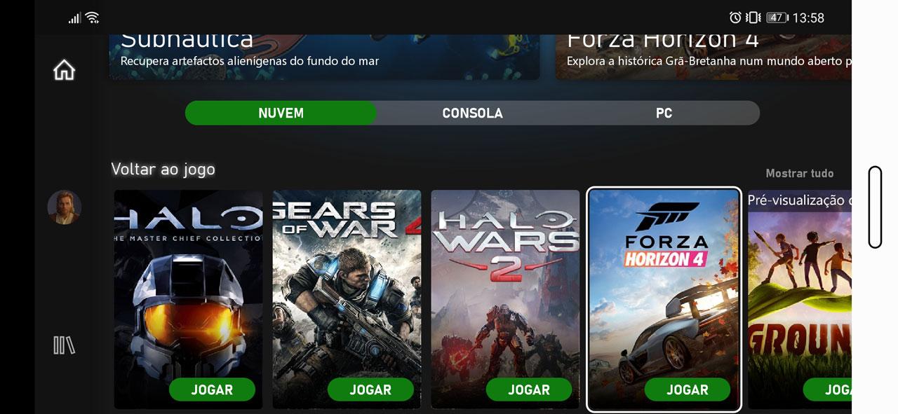 Já é possível jogar Xbox via xCloud em qualquer lado