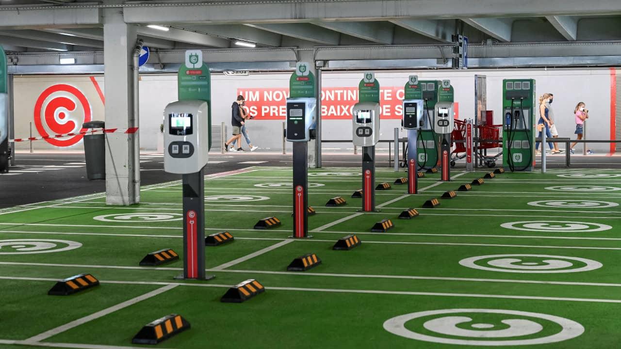 carregadores para veículos elétricos