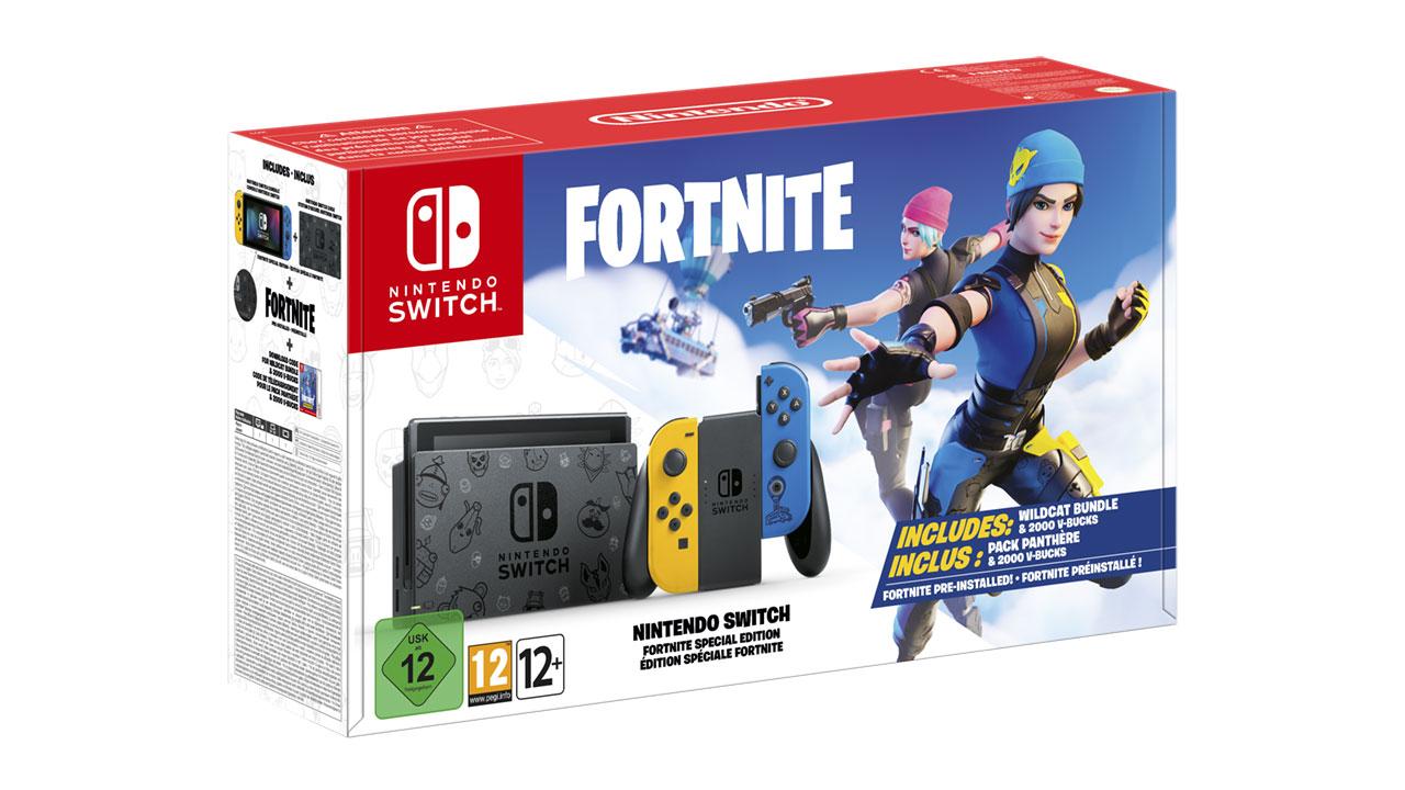 Nintendo Switch Fortnite: Edição Especial