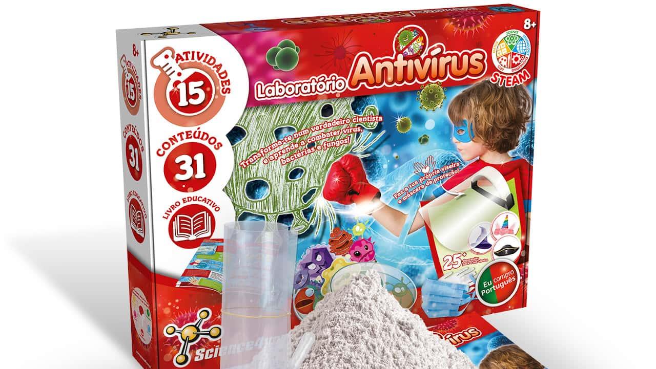 Laboratório Antivírus sobre a COVID-19