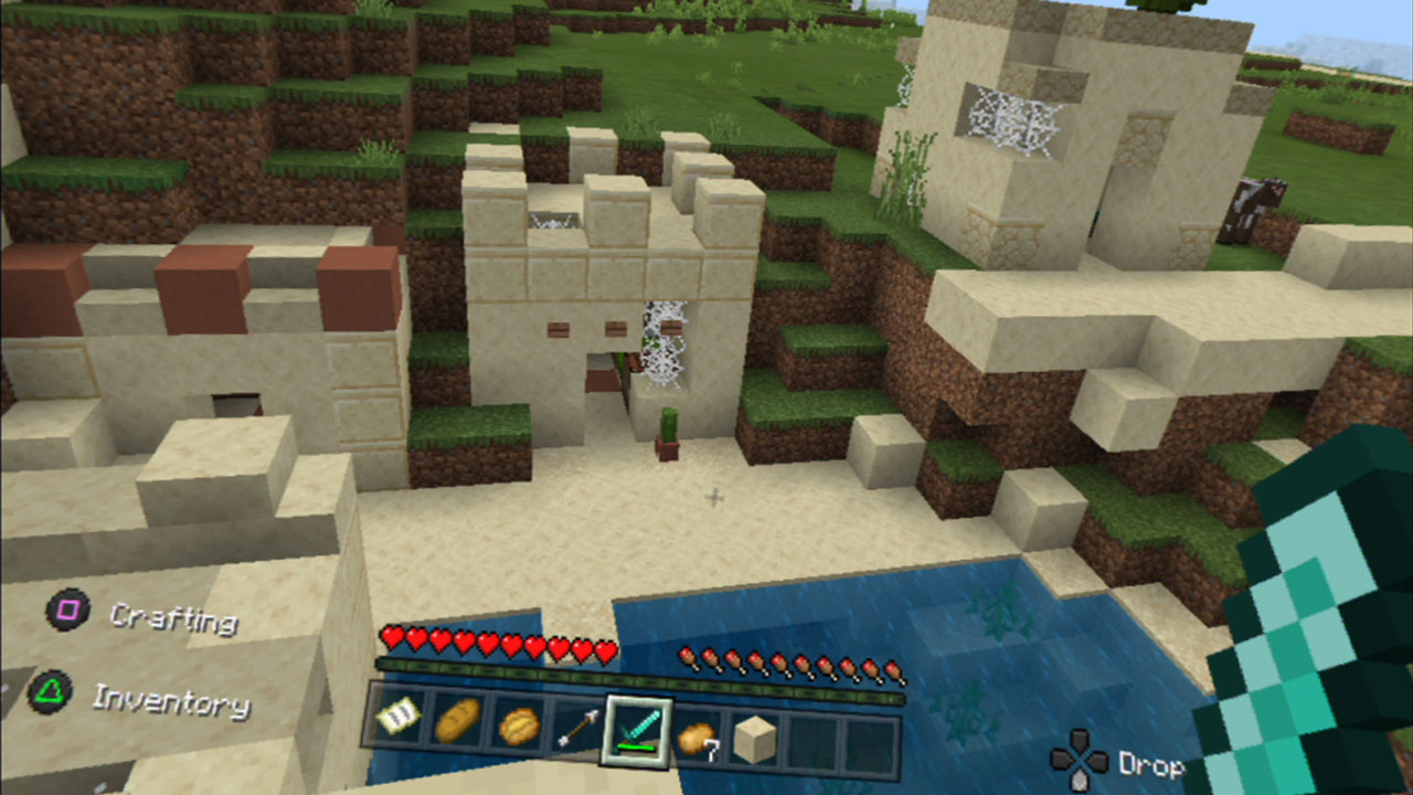 Minecraft x PSVR