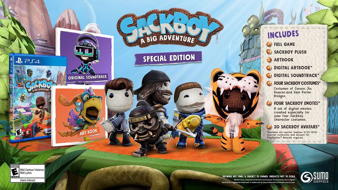 sackboy special edition 2