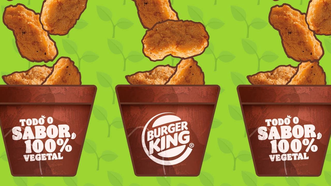 Burger King nuggets vegetais