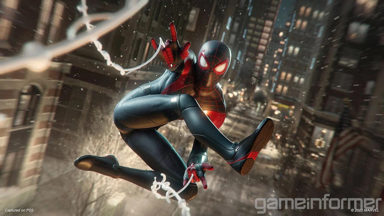 marvels spider man miles morales ps5 gameinformer 2