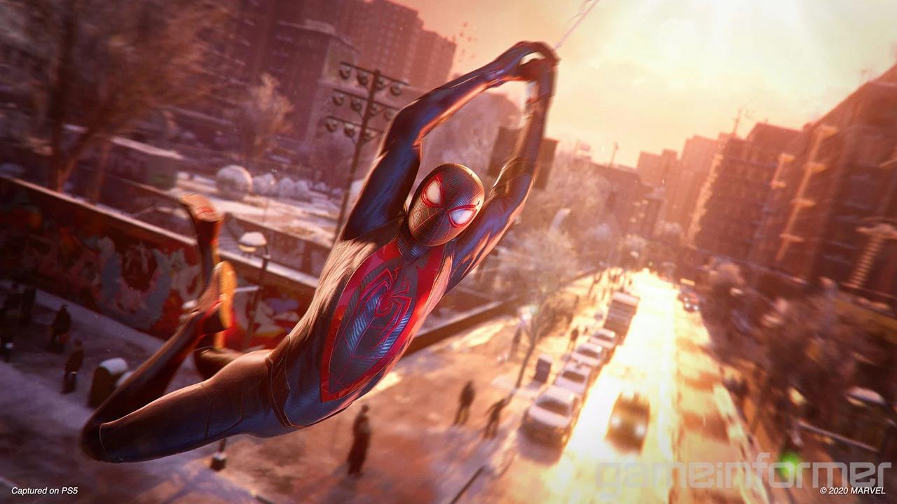 marvels spider man miles morales ps5 gameinformer 4