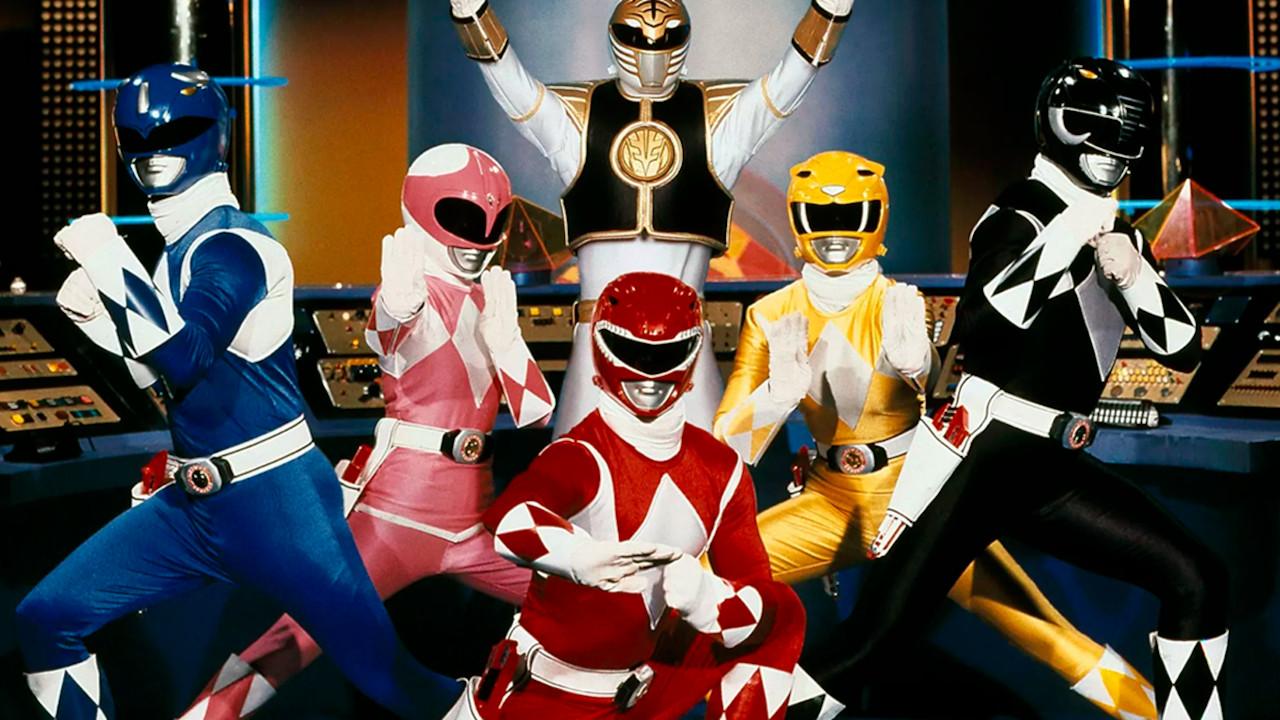 Power Rangers filmes séries