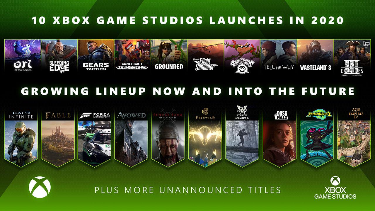 estúdios da Xbox