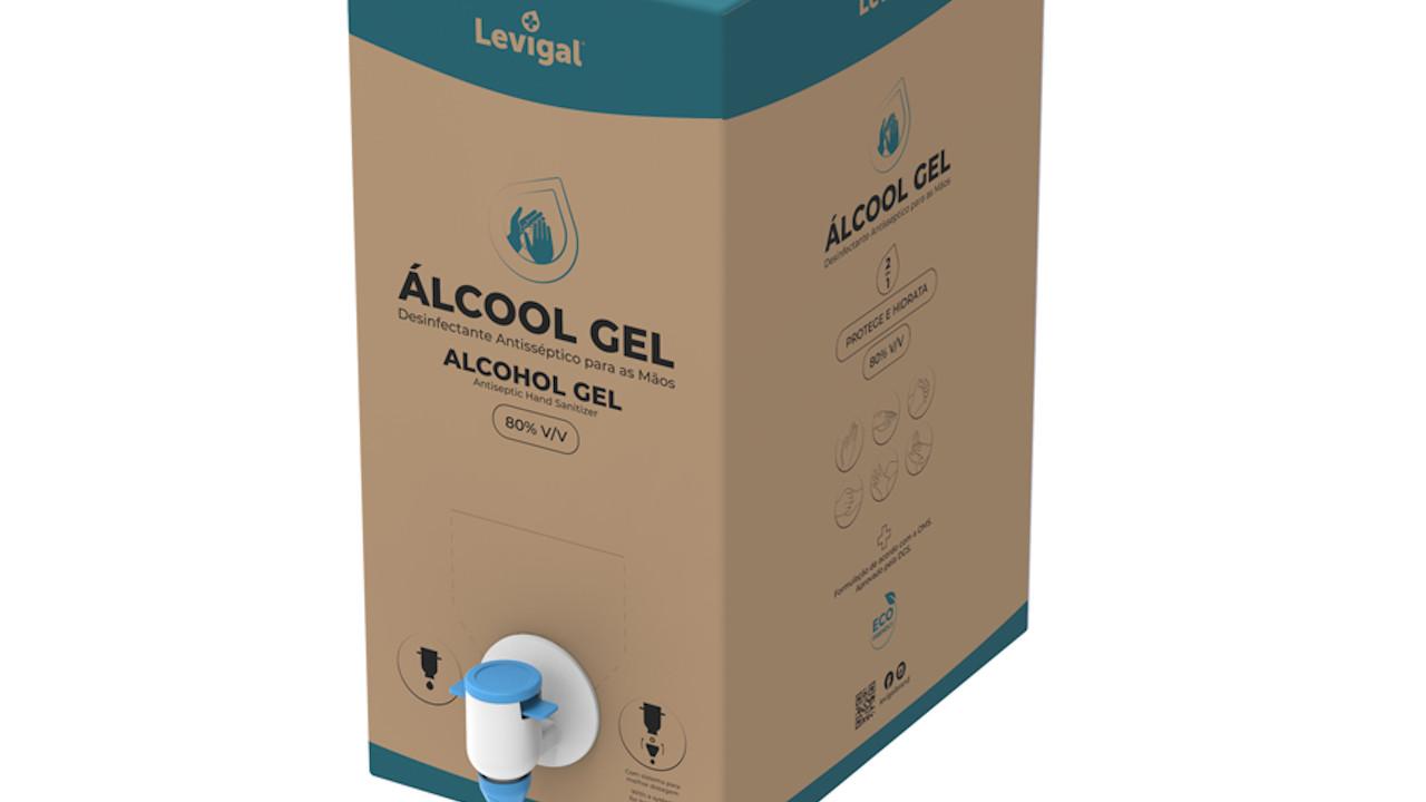 Auchan álcool gel