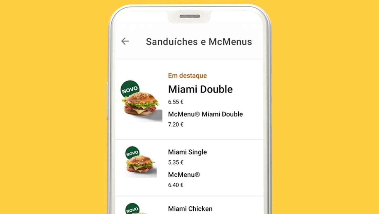 app McDonald's