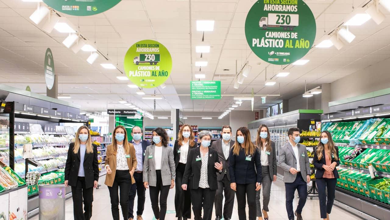 Mercadona - Uso do plástico