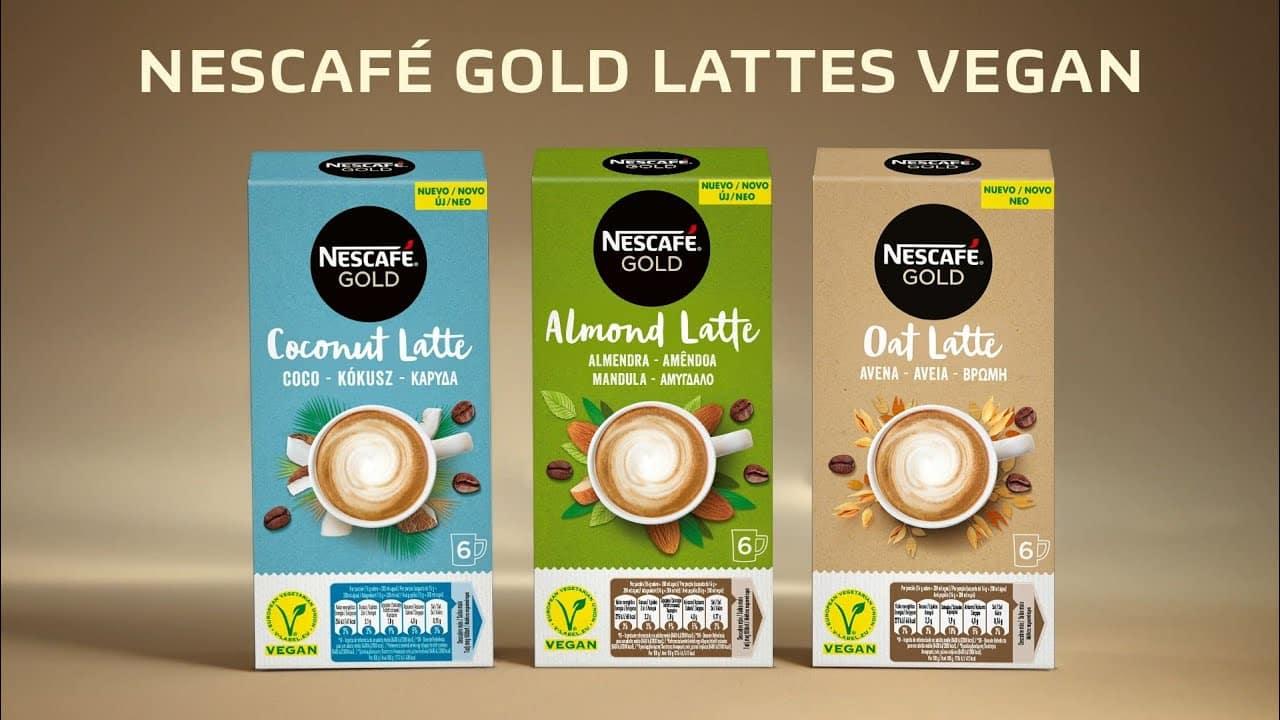 Nescafé Gold Lattes Vegan