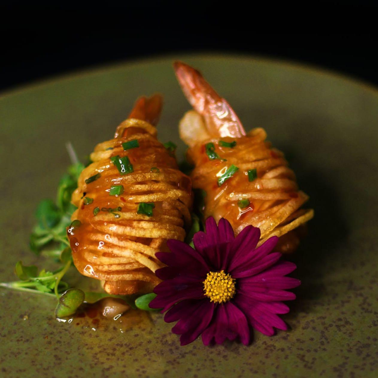 Omotenashi Sushi bar camarao