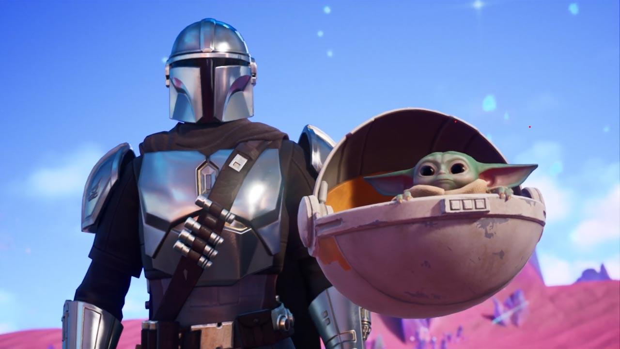 Mandalorian e Baby Yoda
