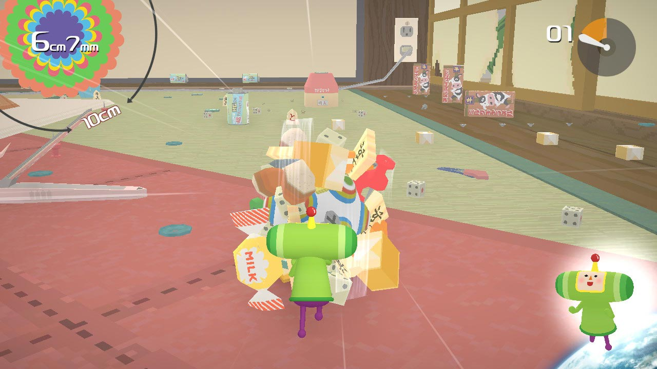 katamari damacy reroll review echo boomer 2