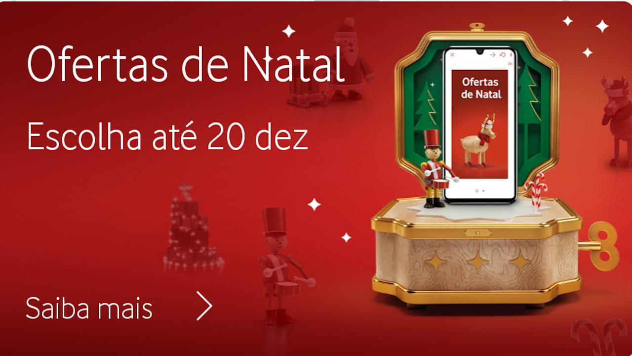 prendas de Natal Vodafone