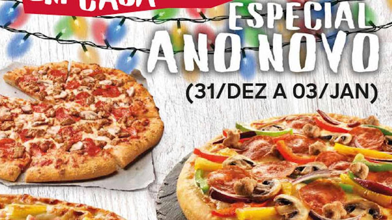Rodízio de Pizzas em Casa