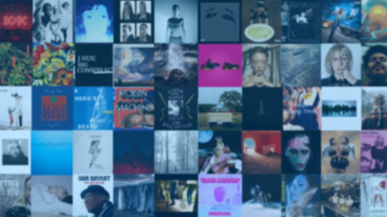 Música - 50 melhores álbuns de 2020