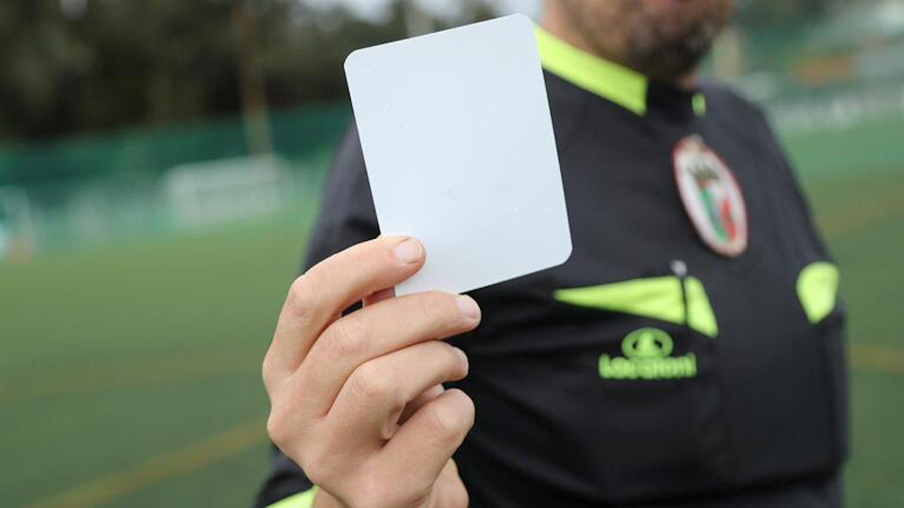 cartão branco