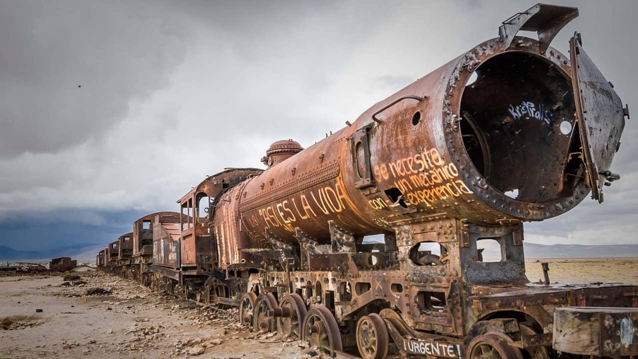 comboios que mudaram o mundo