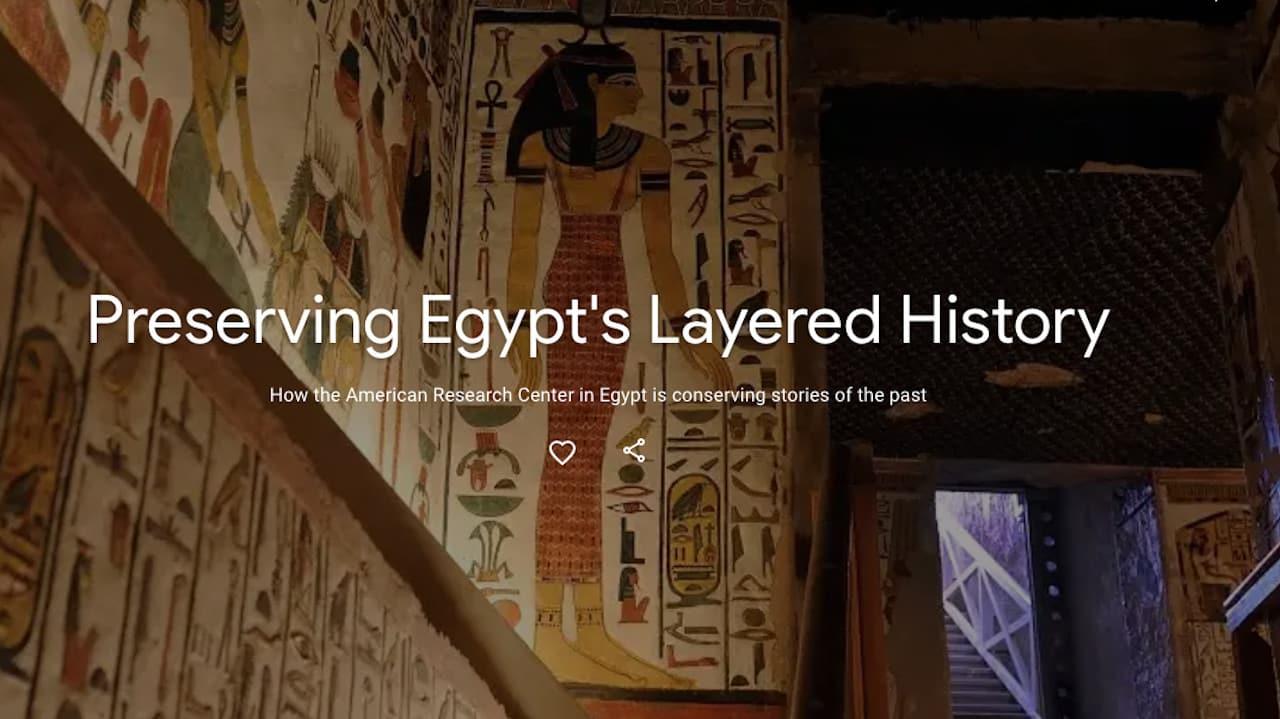 herança cultural egípcia