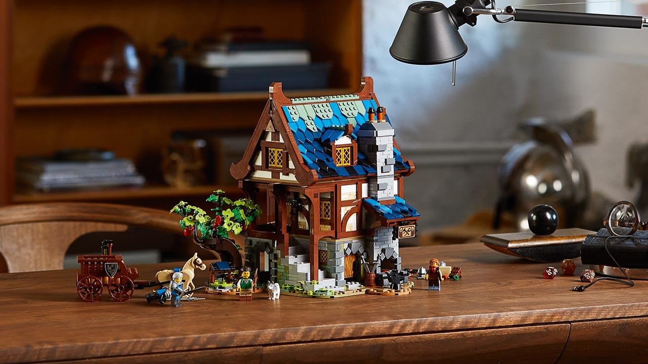LEGO Ideas Ferreiro Medieval