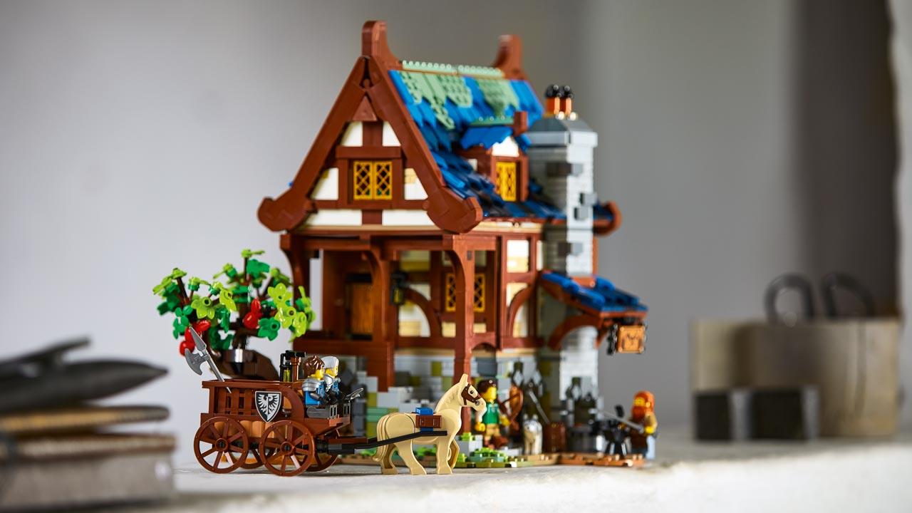 lego ideas ferreiro medieval 2