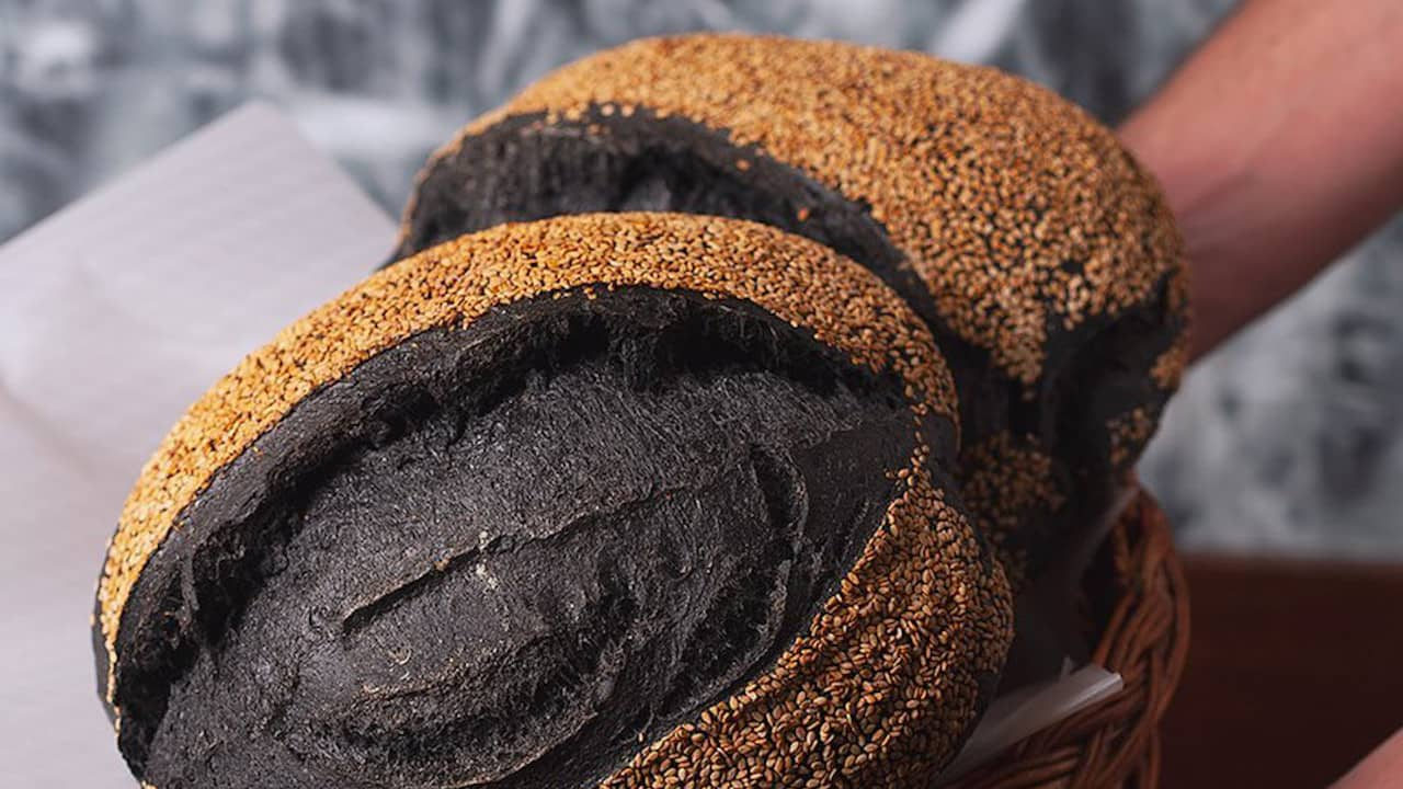 pão de carvão ativado