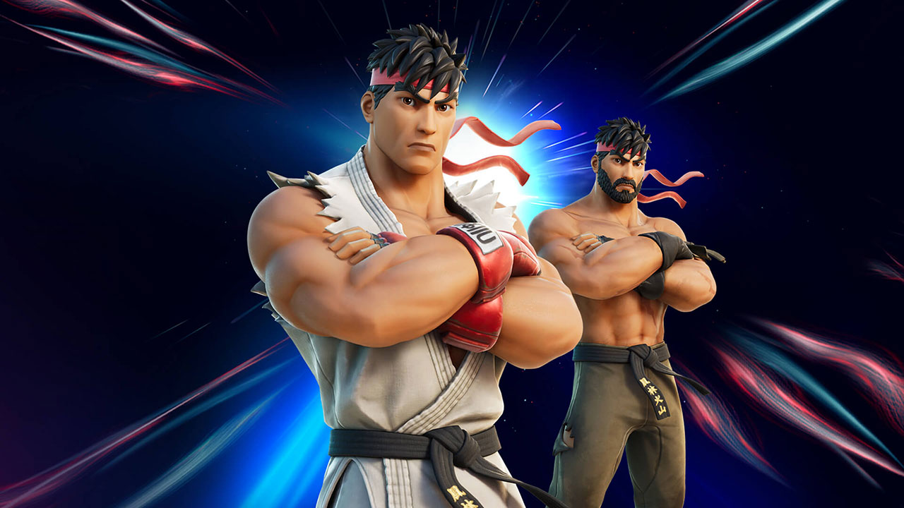 fortnite street fighter 3