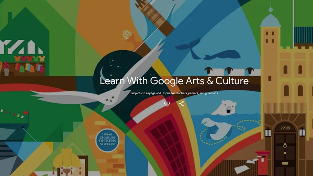 Learn with Google Arts & Culture