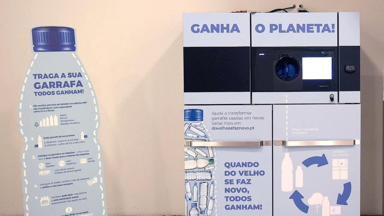 máquinas de recolha automática
