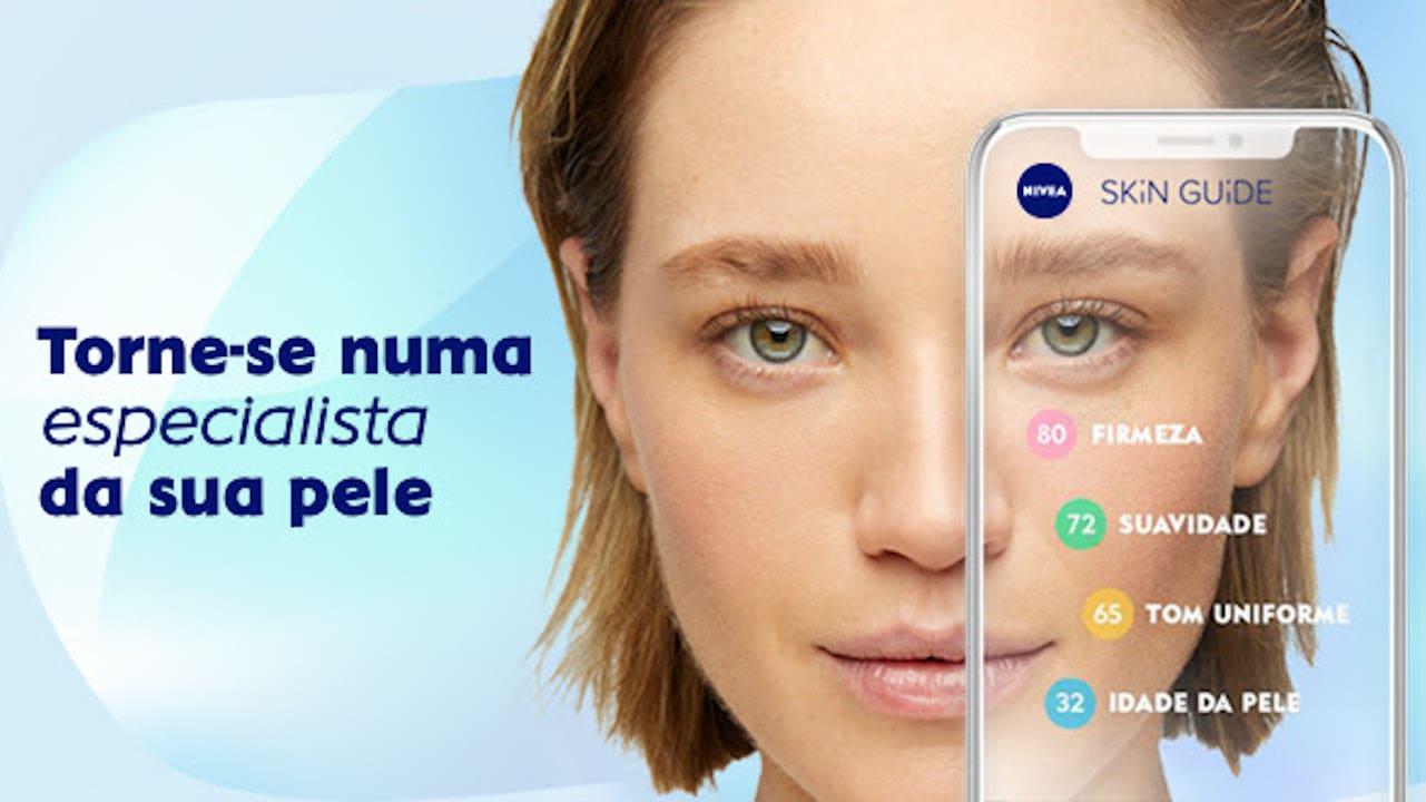 web app da NIVEA SKiN GUiDE