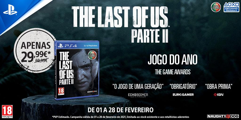 The Last of Us Part II desconto