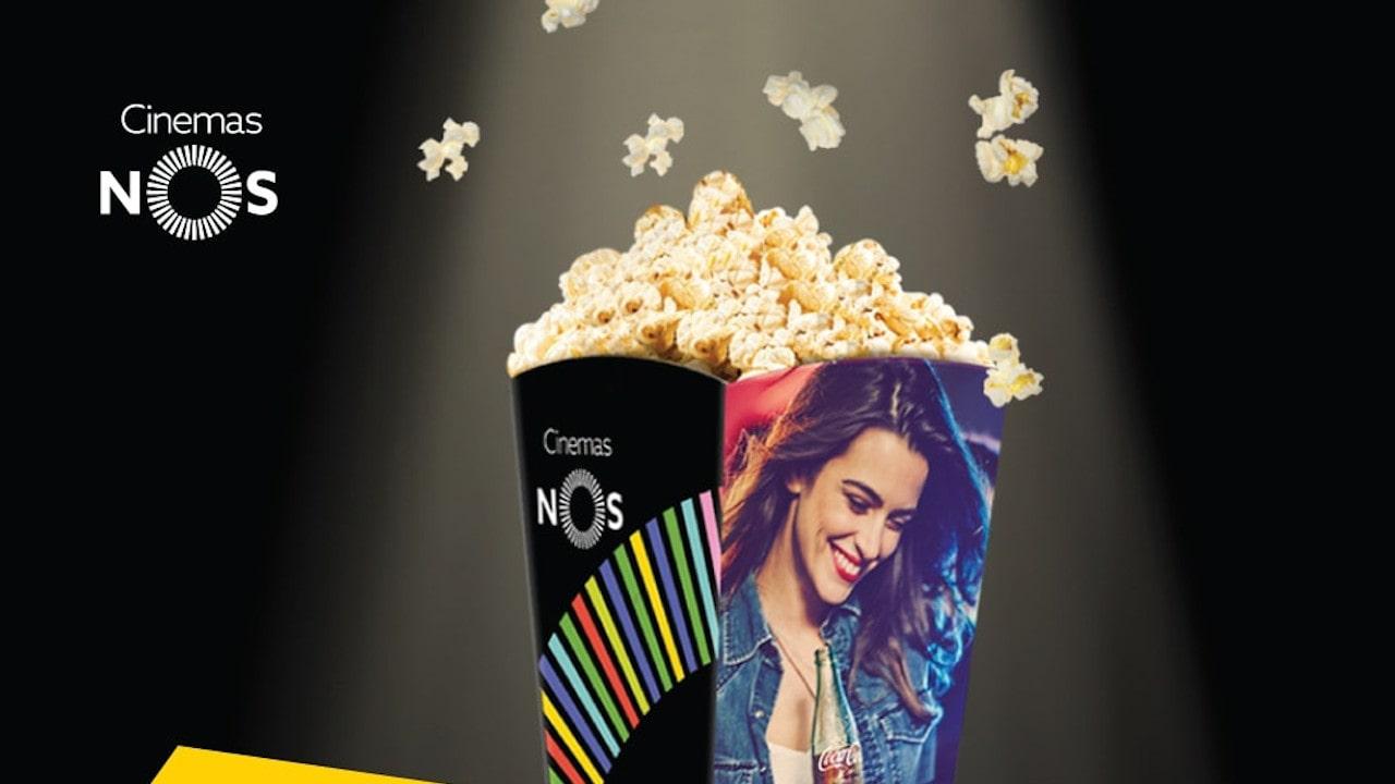 pipocas Cinemas NOS