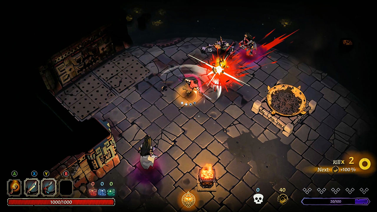 curse of the dead gods review echo boomer 3