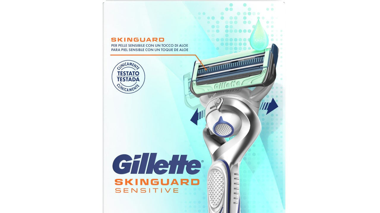 Gillette embalagens sustentáveis