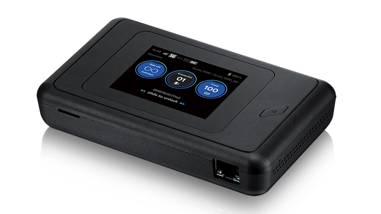 hotspot pronto para o 5G - Zyxel NR2101