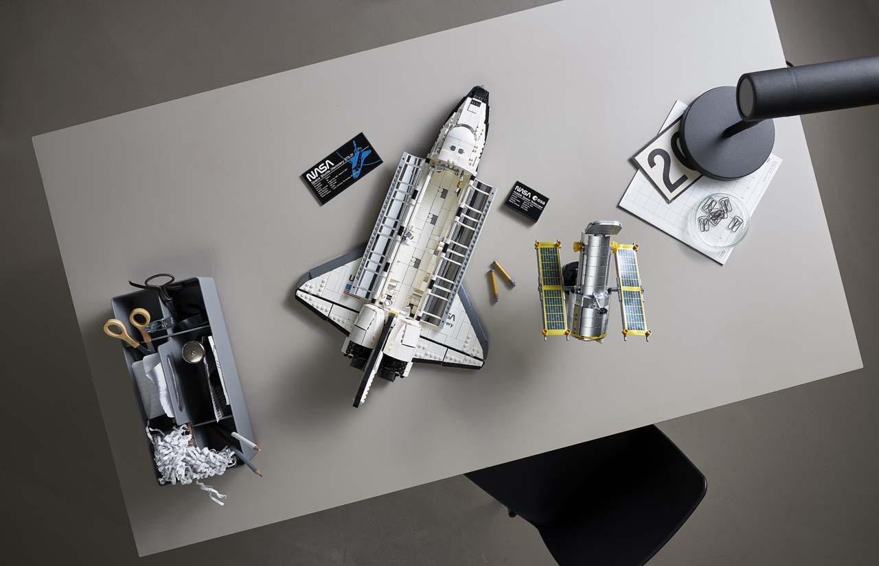 lego nasa space shuttle discovery 3