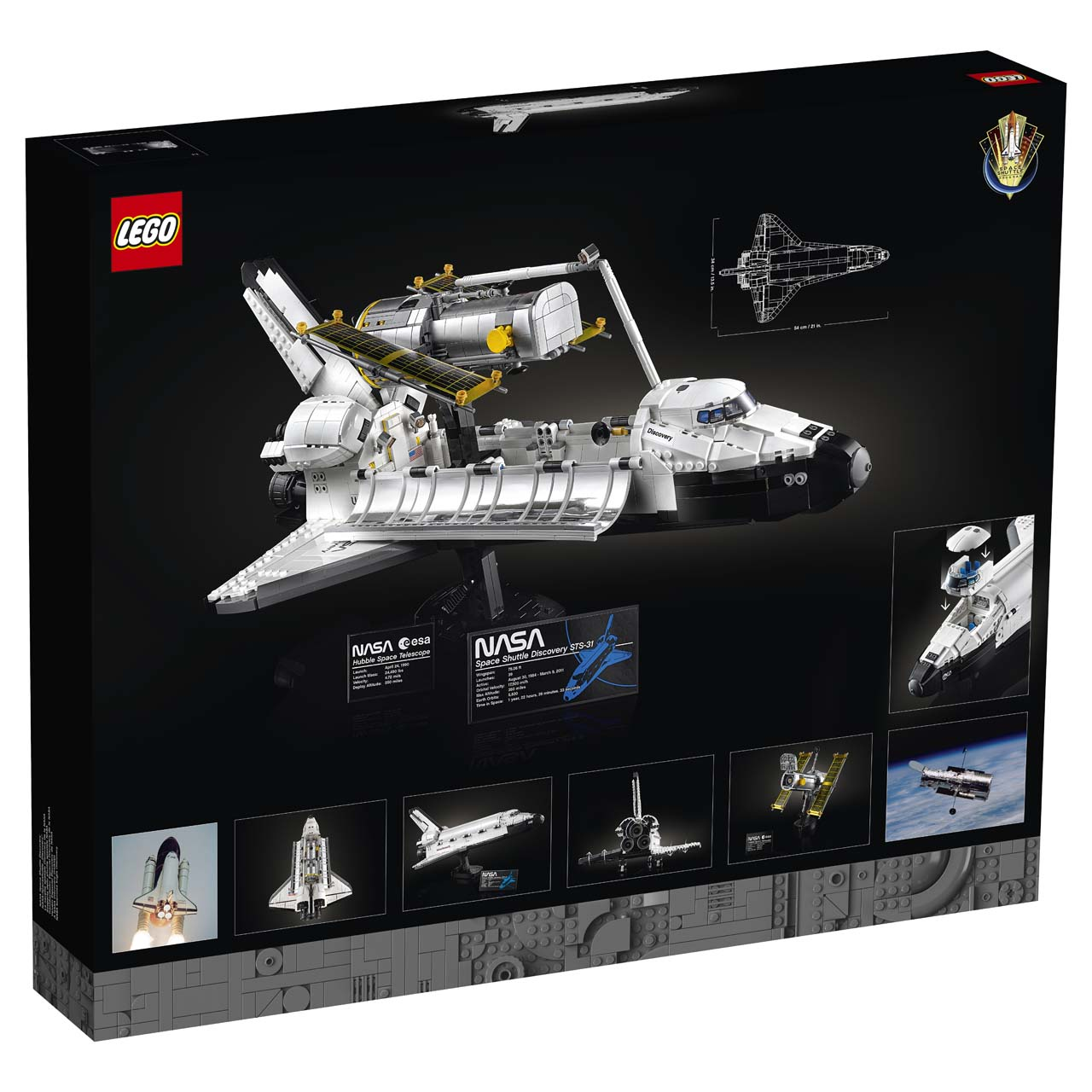 lego nasa space shuttle discovery 7