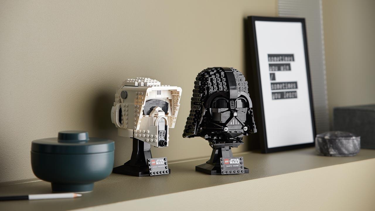 LEGO Star Wars Capacete de Darth Vader