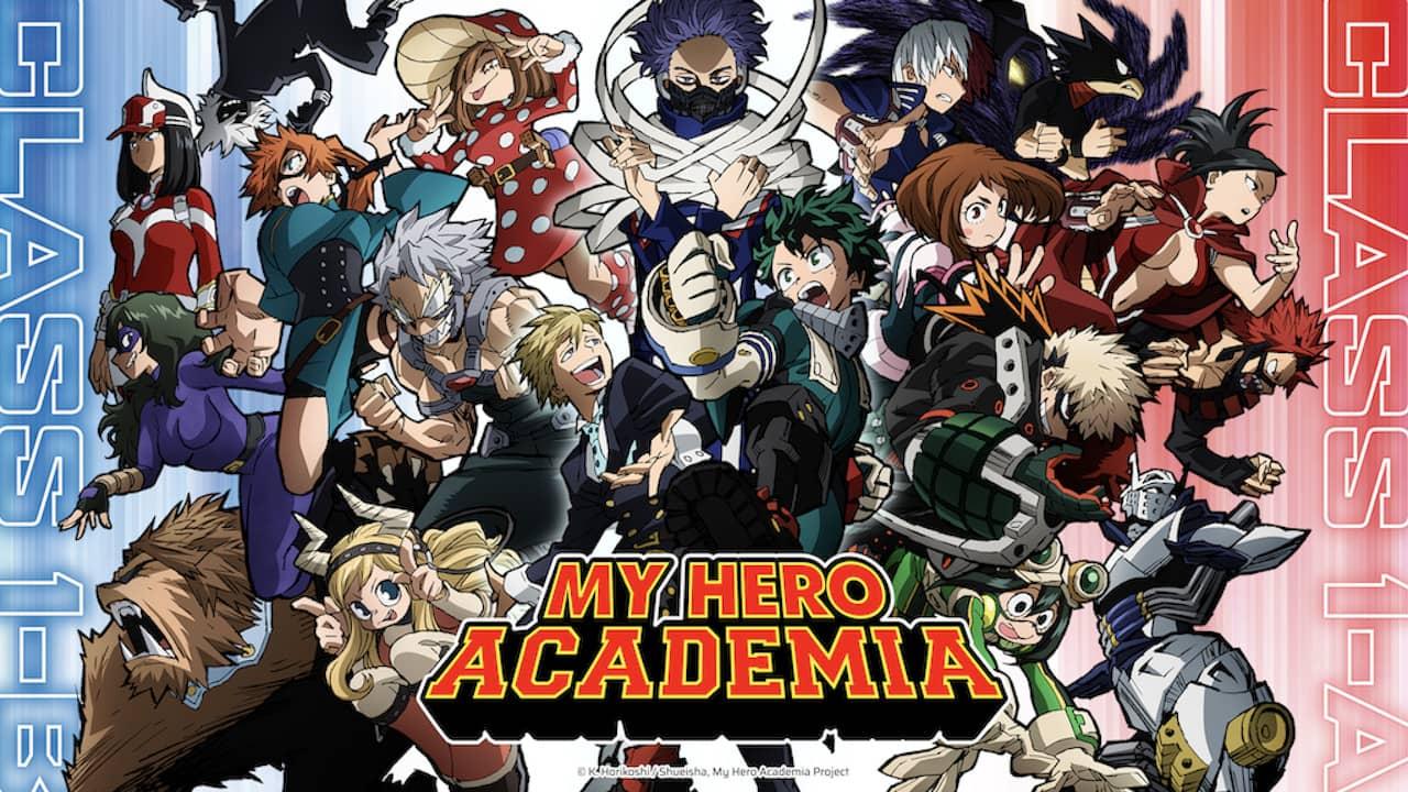 My Hero Academia Crunchyroll