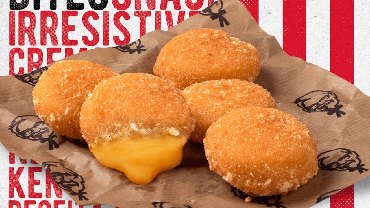 Cheesy Bites - KFC molho de queijo
